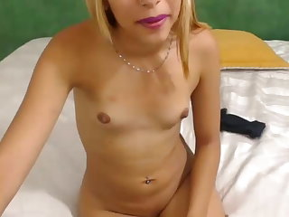 Marvelous tiny little girl on webcam Martina miller