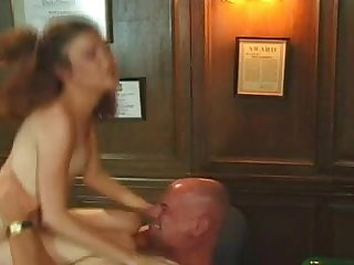Tiny Tit Teen Anne Fucked Up The Ass By Old Guy